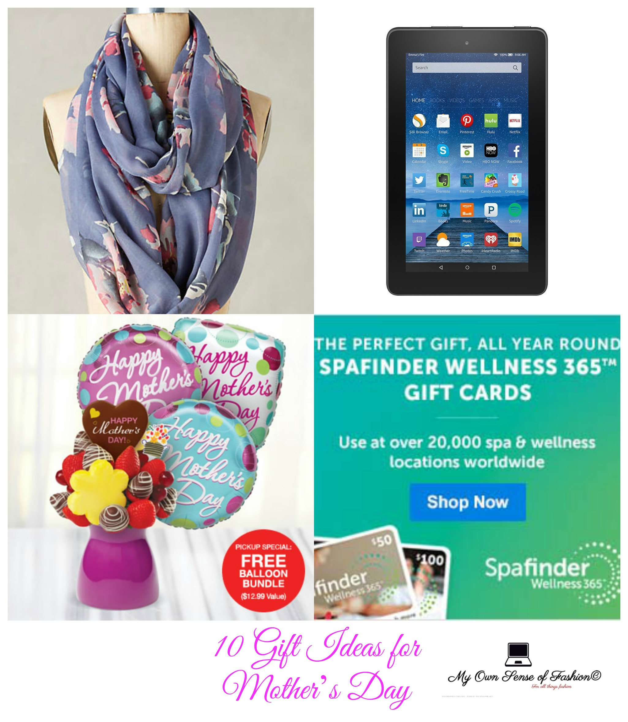 10 Gift Ideas for Mother's Day (Images)