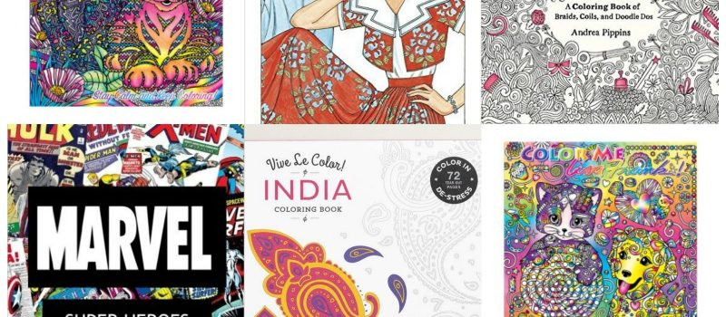 Colorful Memories-Adult Coloring Books