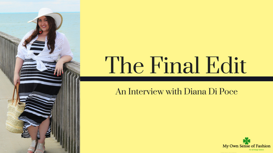 The Final Edit- An Interview with Diana Di Poce