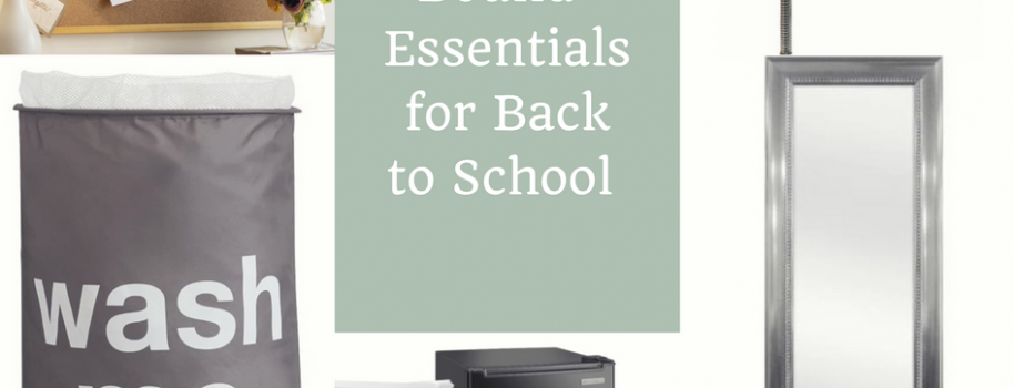 College Bound- Essentials for Back to School