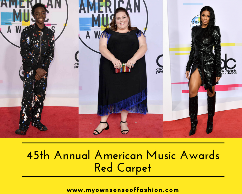 45th Annual American Music Awards Red Carpet
