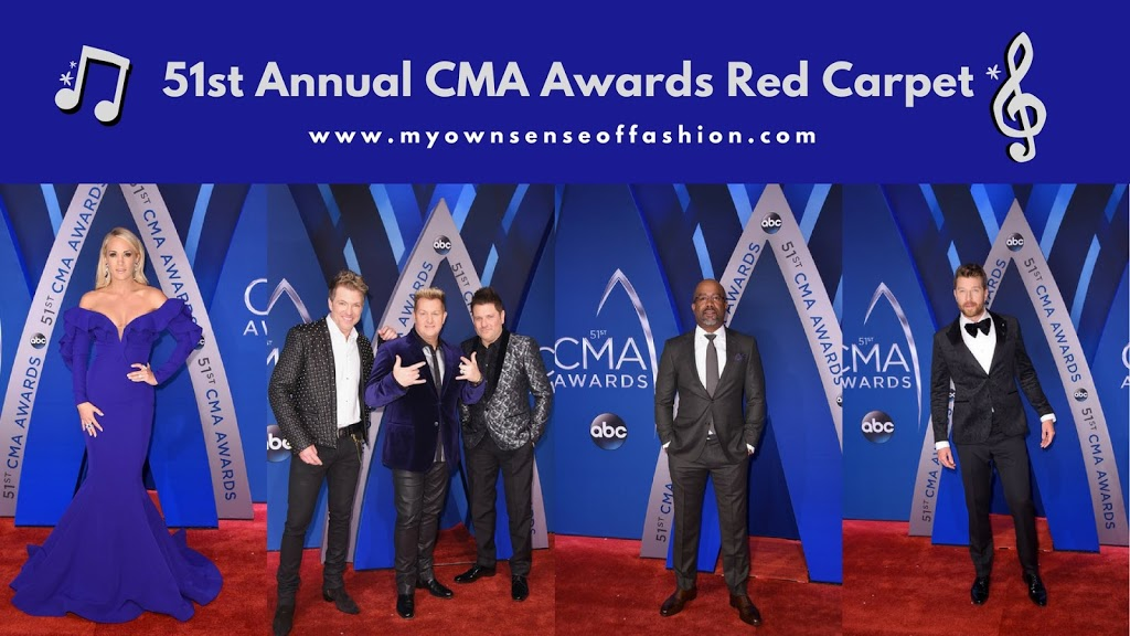 51st CMA Awards Red Carpet (Images)