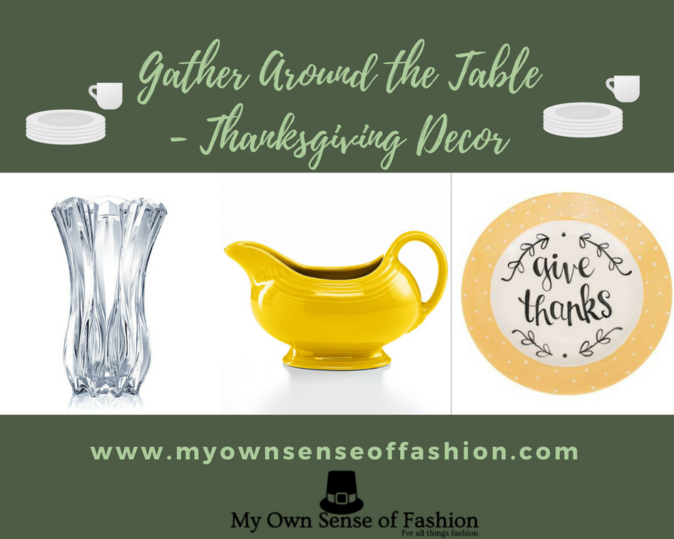 Gather Around the Table- Thanksgiving Decor