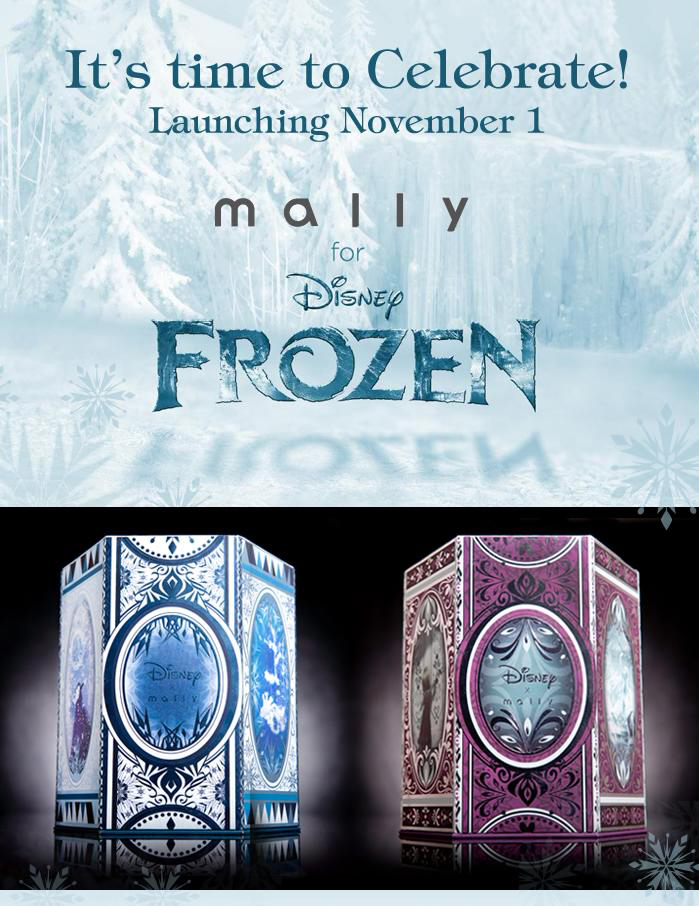 Disney Frozen Collection by Mally Beauty is Out Now