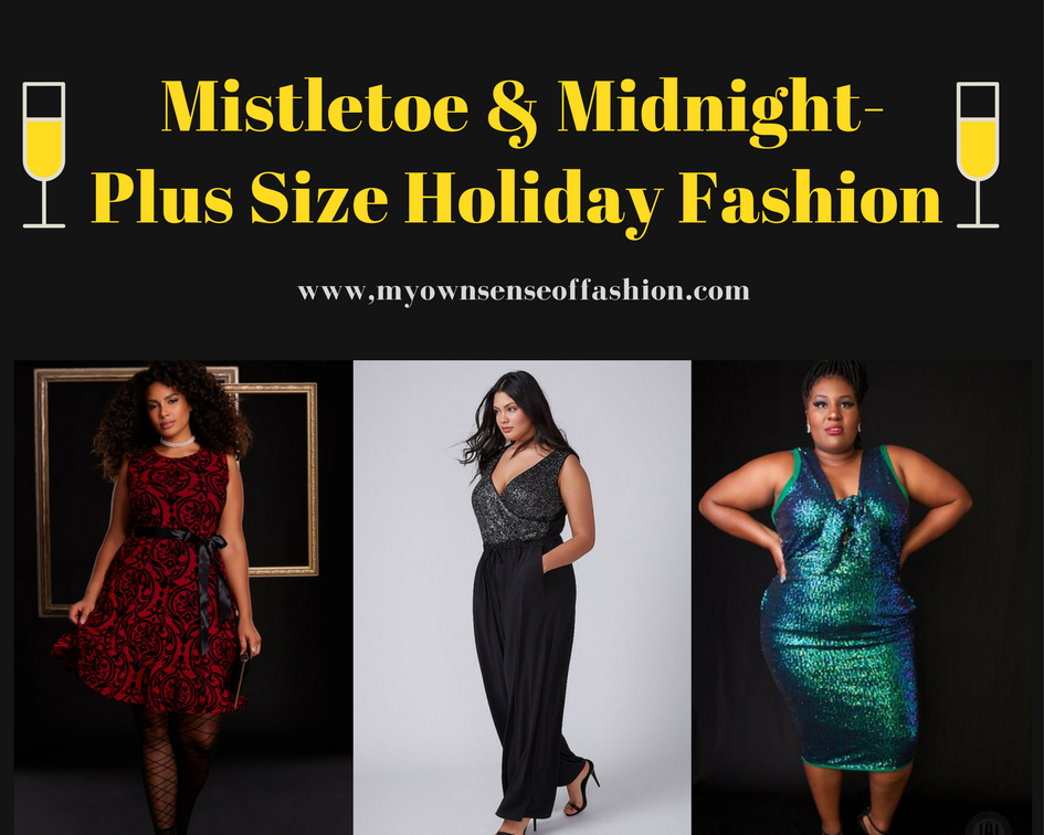 Mistletoe & Midnight-Plus Size Holiday Fashion