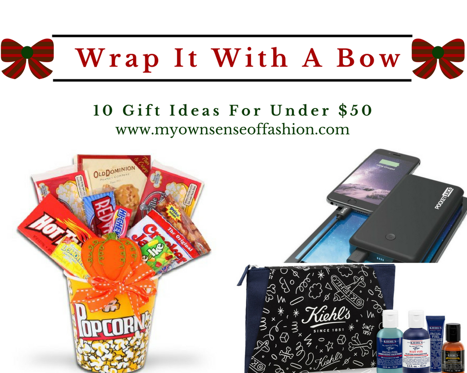 Wrap It with A Bow- 10 Gift Ideas For Under $50