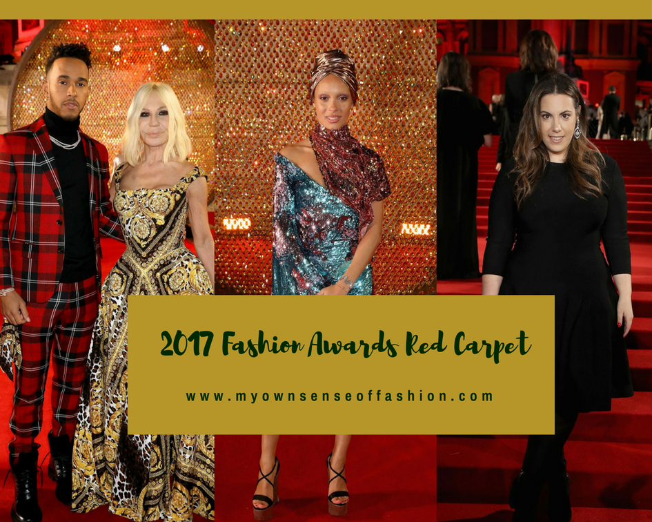 2017 Fashion Awards Red Carpet (Images)