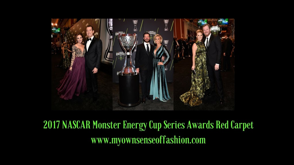 2017 NASCAR Monster Energy Cup  Series Awards Red Carpet (Images)