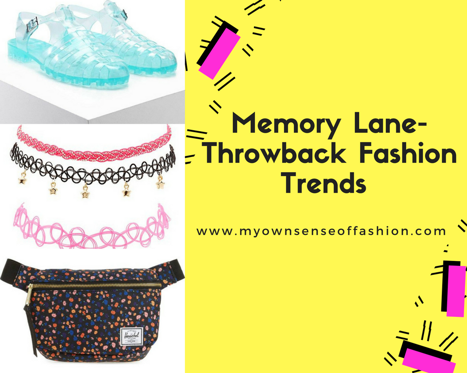 Memory Lane- Throwback Fashion Trends