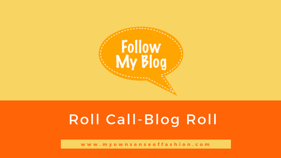 Roll Call- Blog Roll