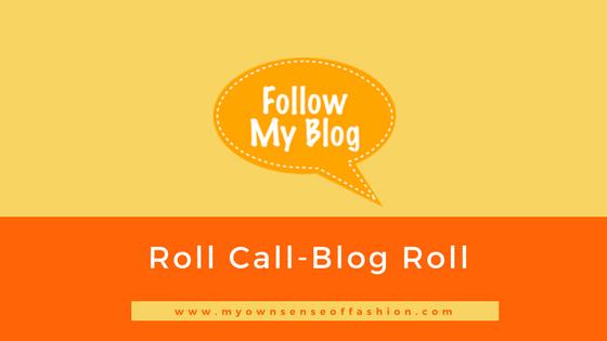 Roll Call- Blog Roll
