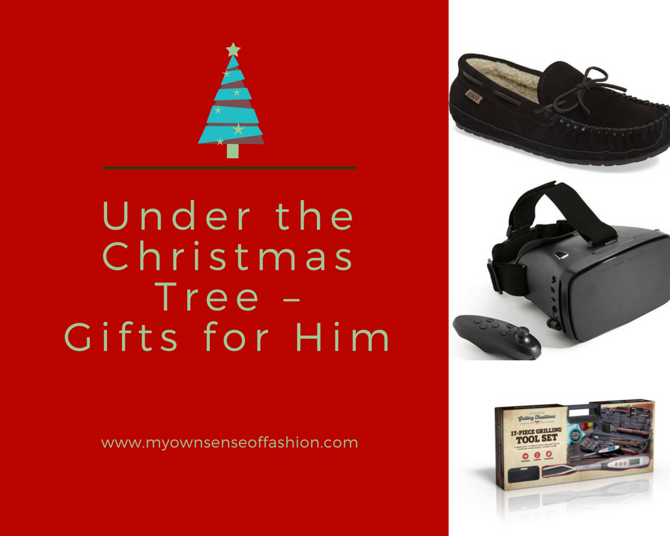 Under the Christmas Tree – Gifts for Him