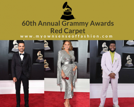 60th Annual Grammy Awards Red Carpet