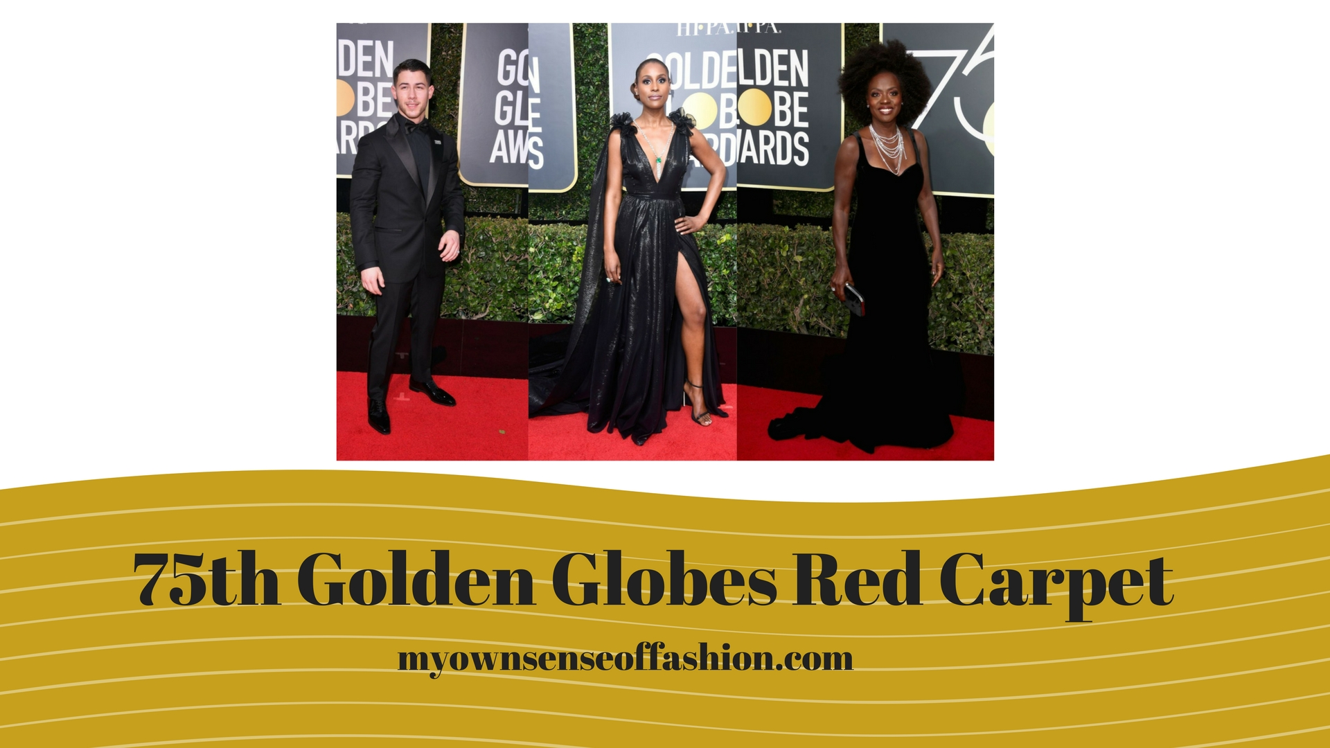 75th Annual Golden Globes Awards Red Carpet