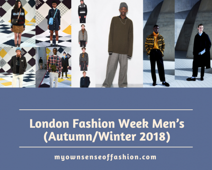 London Fashion Week Men's (Autumn/Winter 2018)