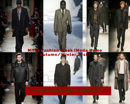 Milan Fashion Week (Moda Uomo Autumn/Winter 2018)