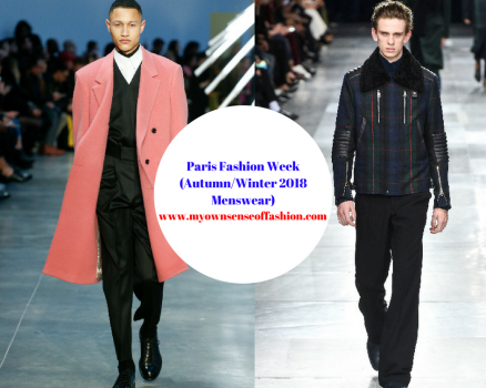 Paris Fashion Week (Autumn/Winter 2018 Menswear)