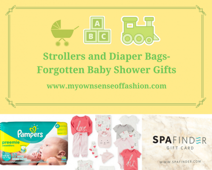 Strollers and Diaper Bags- Forgotten Baby Shower Gifts