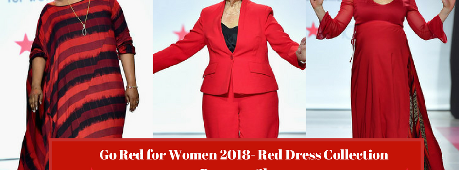 Go Red for Women 2018- Red Dress Collection Runway Show (Images)