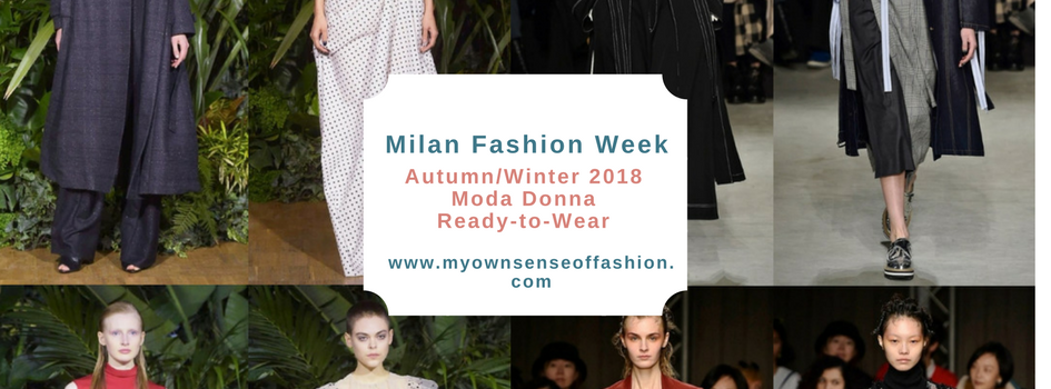 Milan Fashion Week Autumn/Winter 2018 Moda Donna Ready-to-Wear