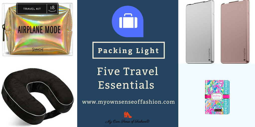 Packing Light- Five Travel Essentials