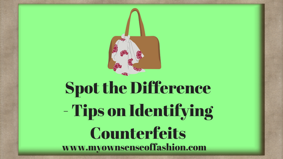 Spot the Difference- Tips on Identifying Counterfeits