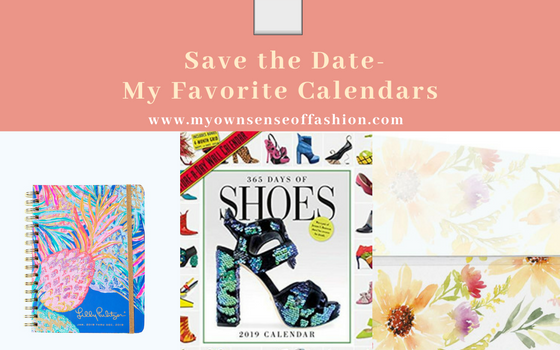 Save The Date- My Favorite Calendars