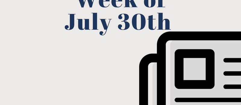 Fashion & Beauty News for the Week of July 30th