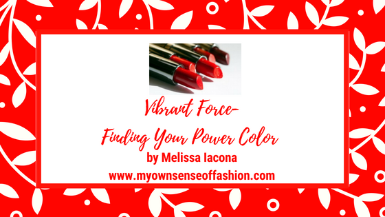 Vibrant Force- Finding Your Power Color