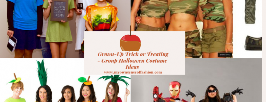 Grown-Up Trick or Treating- Group Halloween Costume Ideas