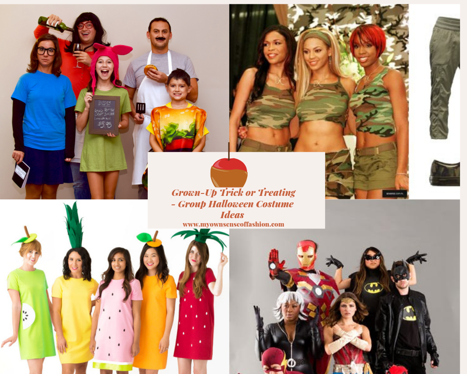 Halloween Group Costume Ideas 2018.Grown Up Trick Or Treating Group Halloween Costume Ideas