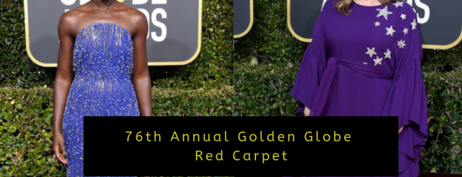 76th Annual Golden Globe Red Carpet