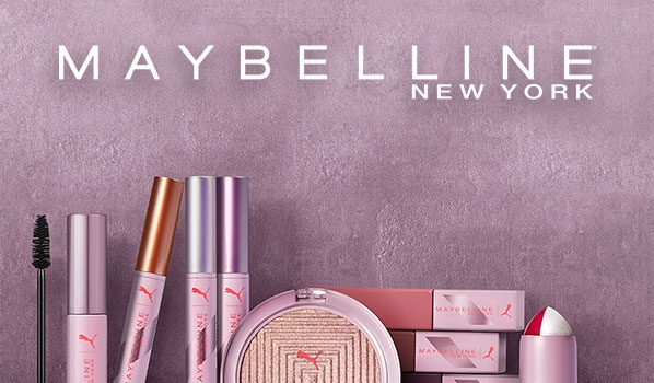 PUMA X Maybelline Makeup Collection Collaboration Coming in February