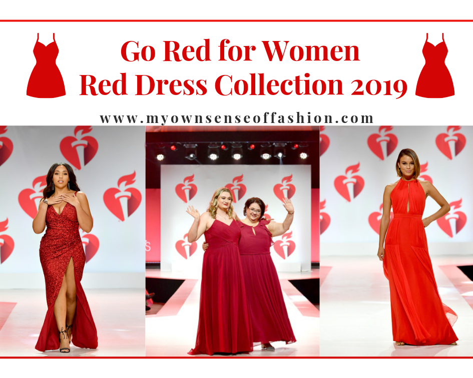6053813c8f9 ... 2019 Go Red For Women. Olympic Medalist Laurie Hernandez in Badgley  Mischka