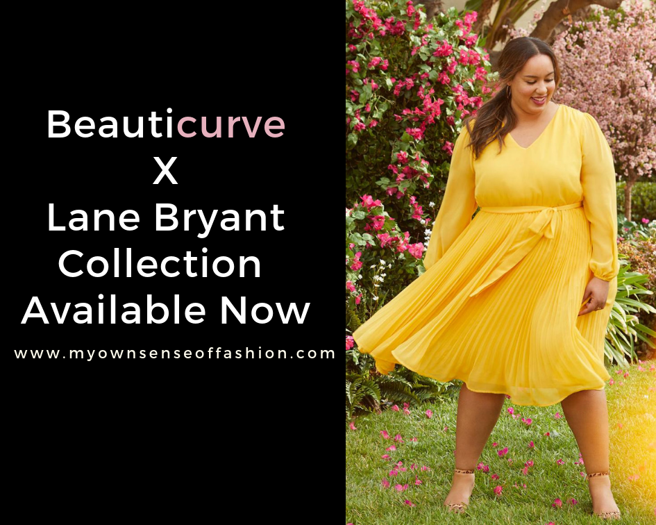 e48d31ad401 Rochelle Johnson (Founder of Beauticurve) in Beauticurve X Lane Bryant  Pleated Midi Dress Image Credit  Lane Bryant