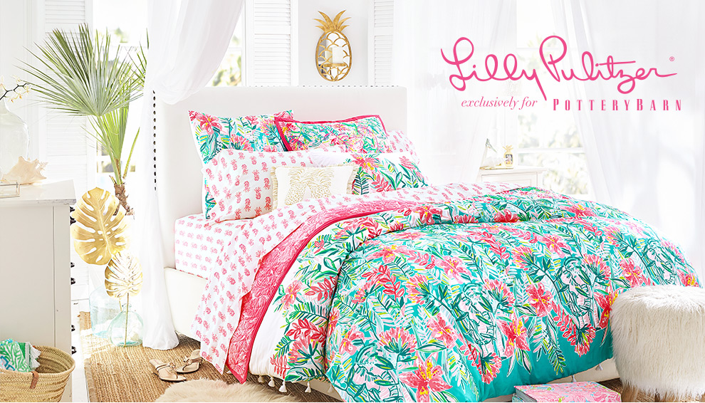 Lilly Pulitzer Exclusively for Pottery Barn, Pottery Kids & PB teen