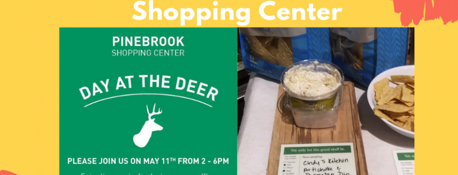 Sidewalk Sale- Day at The Deer at Pinebrook Shopping Center