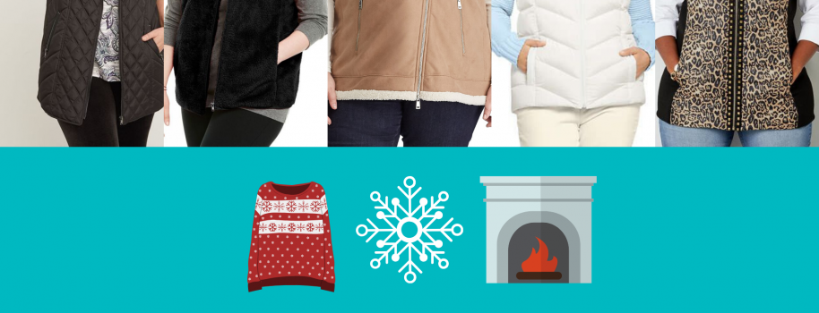 Pockets Included- Plus Size Vests for Winter