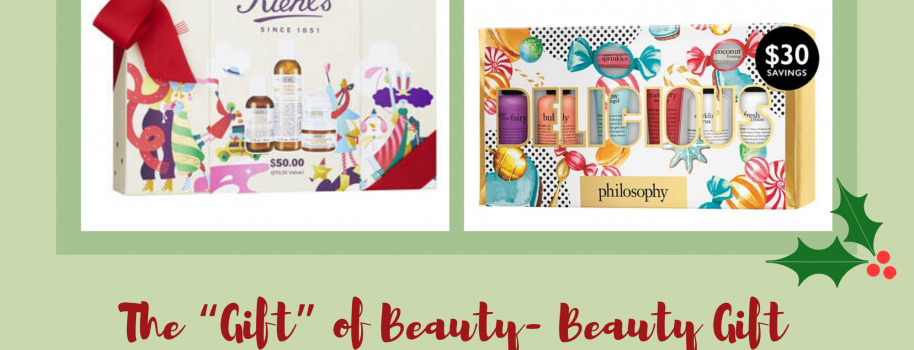 "The ""Gift"" of Beauty- Beauty Gift Sets Under $100"