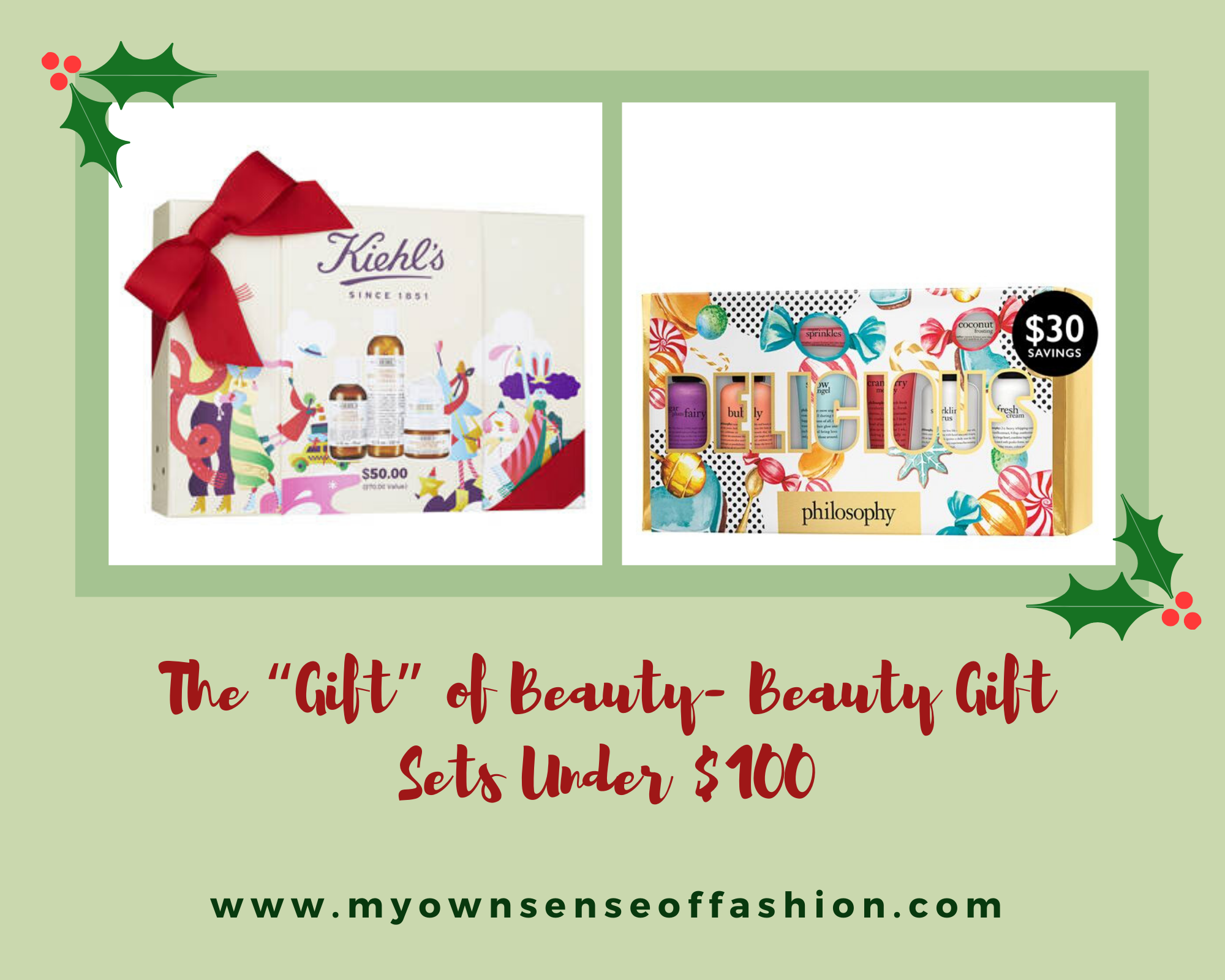 """The """"Gift"""" of Beauty- Beauty Gift Sets Under $100"""