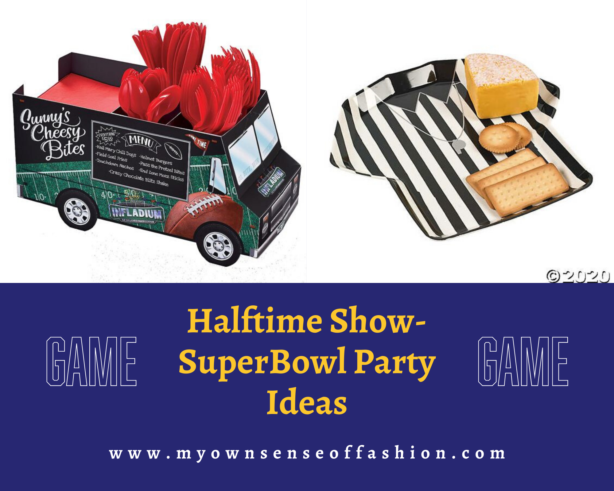 Halftime Show- SuperBowl Party Ideas