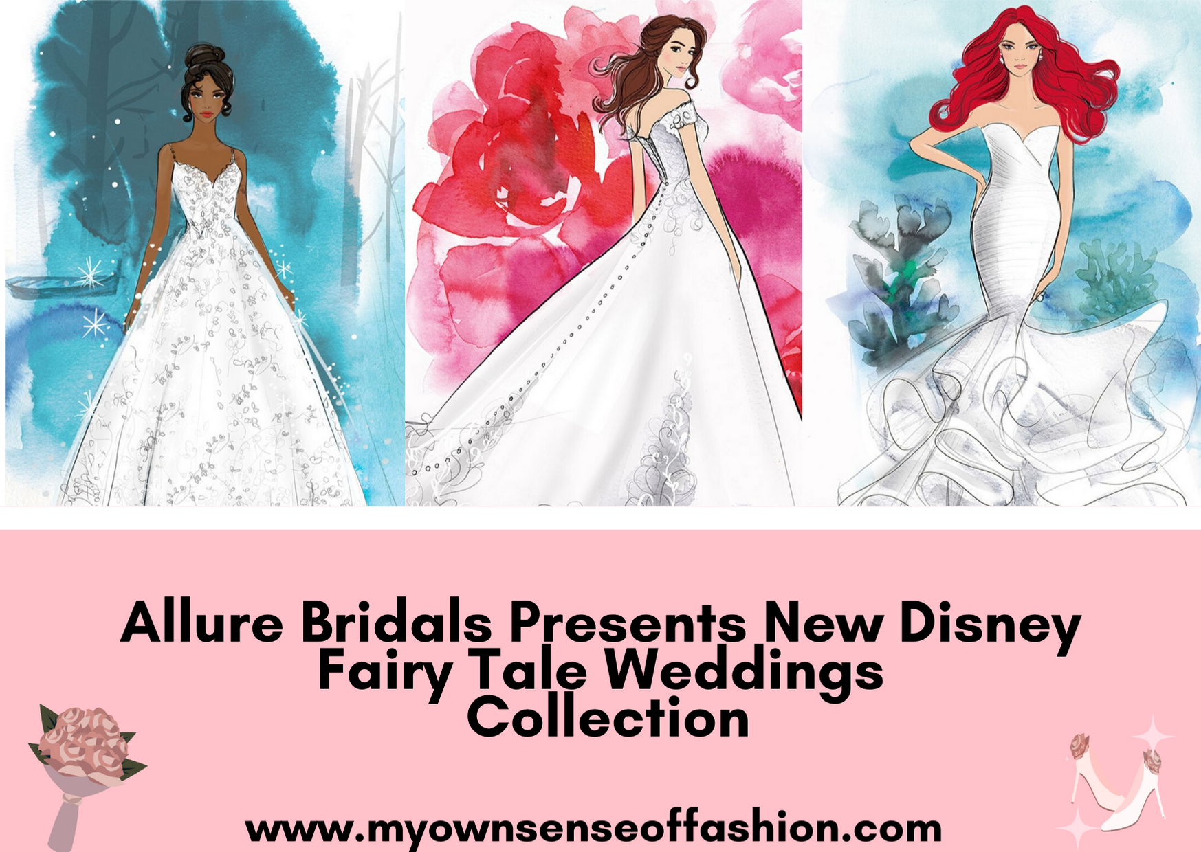 Allure Bridals Presents New Disney Fairy Tale Weddings Collection
