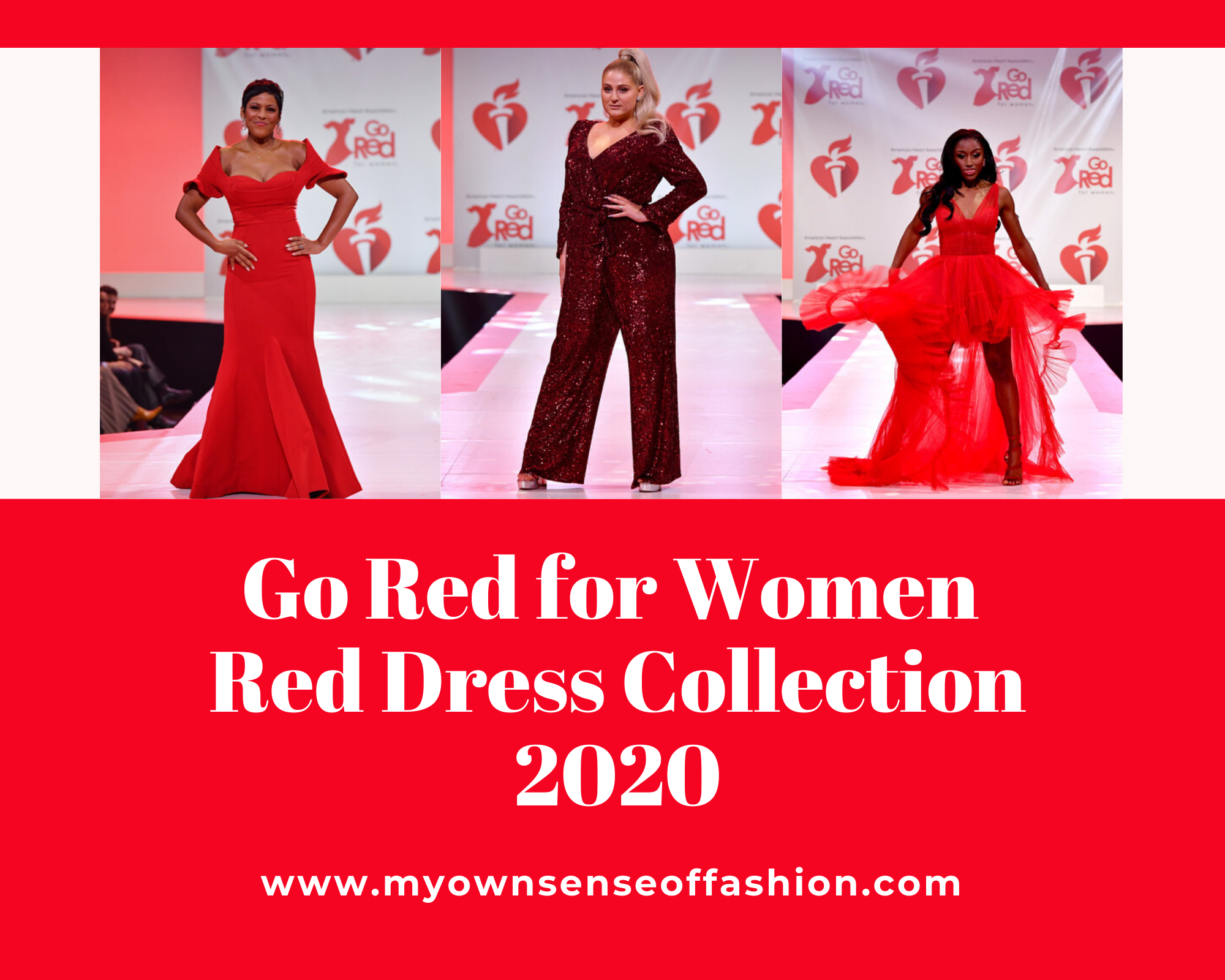 Go Red for Women Red Dress Collection 2020