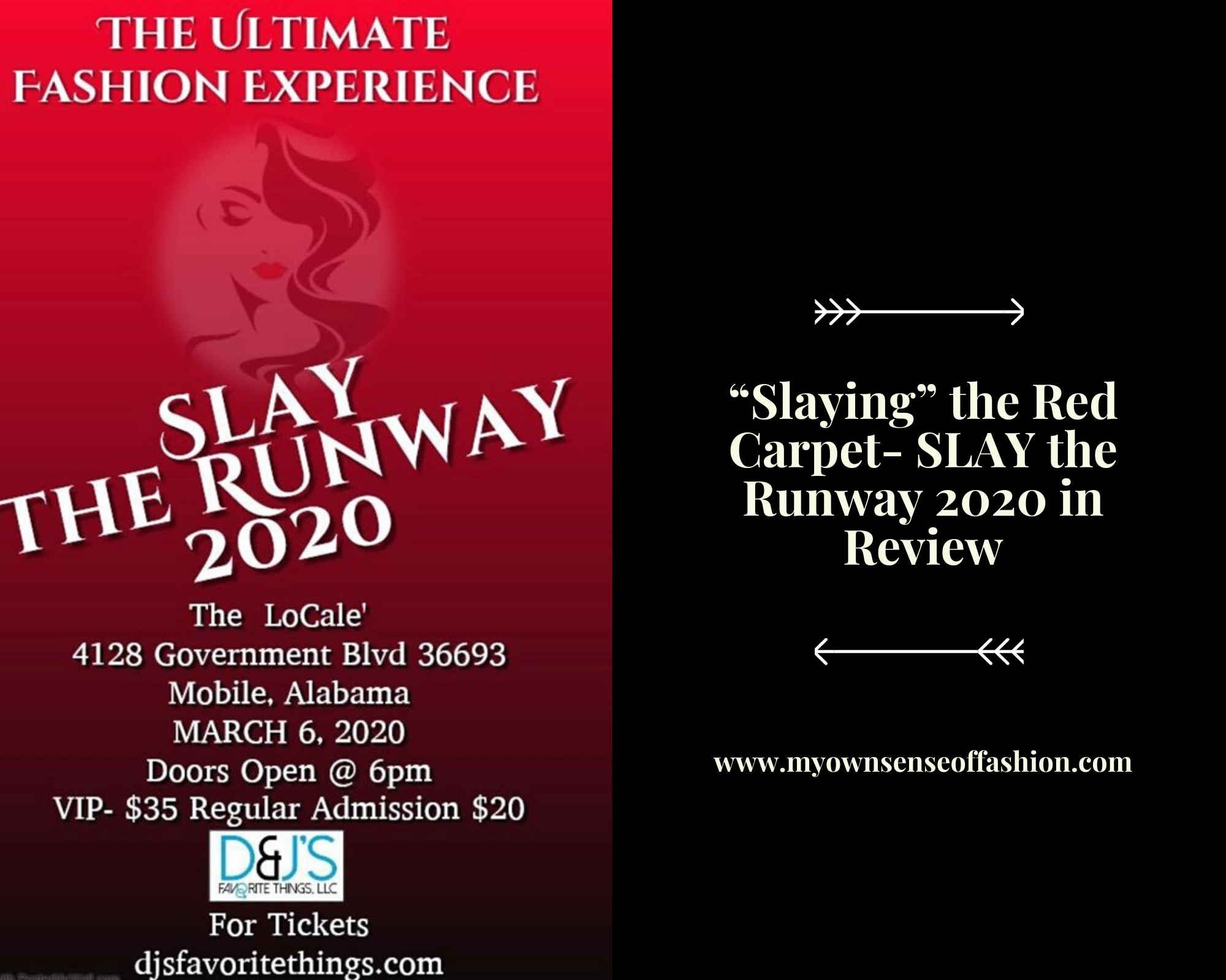 """Slaying"" the Red Carpet- SLAY the Runway 2020 in Review"