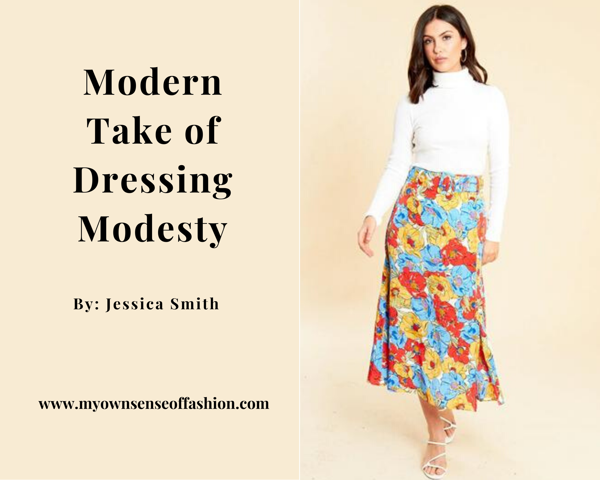 Modern Take of Dressing Modesty