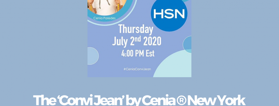 The 'Convi Jean' by Cenia ® New York Launches Tomorrow on HSN
